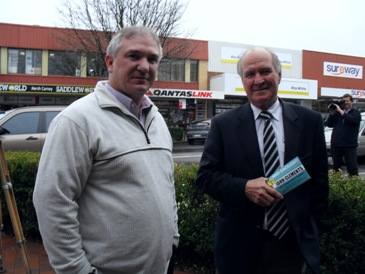 Tim Horan and Tony Windsor